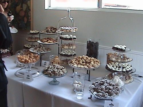 Beautiful cookie buffet