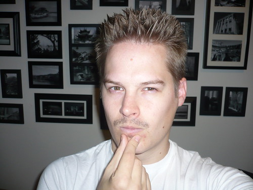 Does this soul-patch make me look evil?