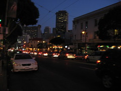 San Francisco, Sunday evening