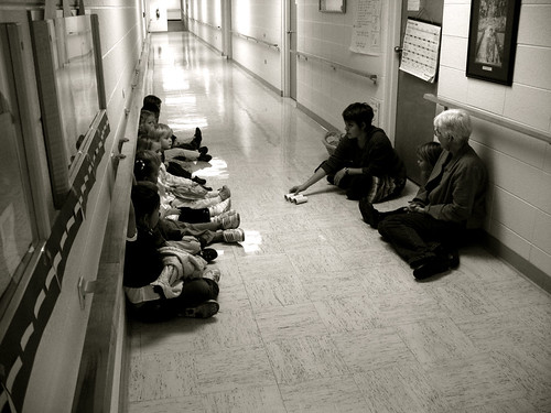 preschool hallway time • photo by chuck neufeld - 05