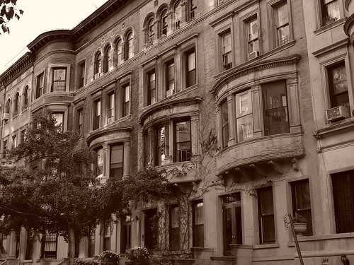 Manhattan in Sepia