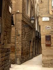 ruelles du vieux Barcelone