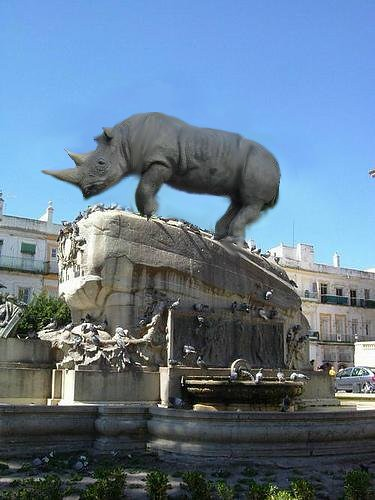 Erytheia, tierra de rinocerontes