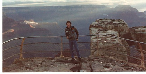 Richie at the Grand Canyon