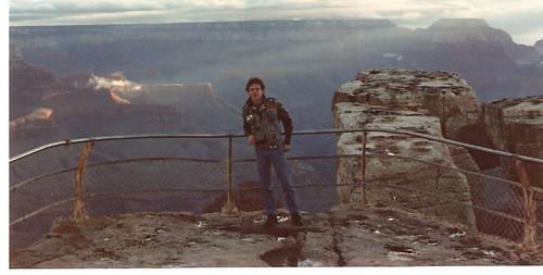 Richie at the Grand Canyon