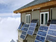 shiny solar panels