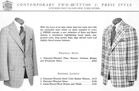 Contemporary Two-Button J. Press Style