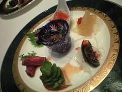 前菜7種~冬の彩り~@雁飯店 中国割烹 大岩