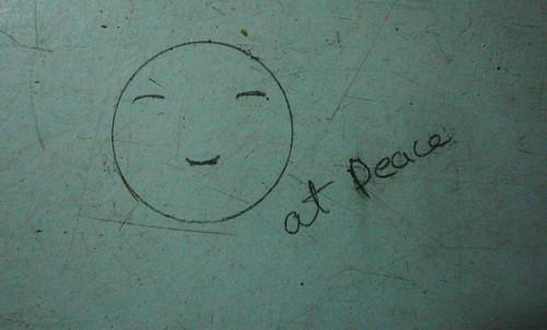 Peace amidst chaos