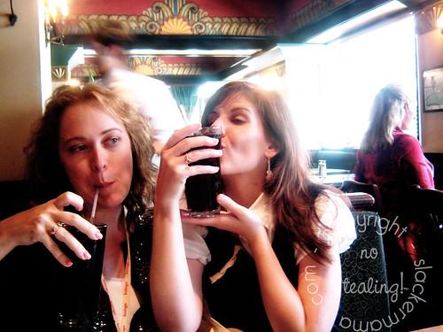 Loralee loves Diet Coke