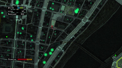 Locating survivors made easy thanks to your thermal satellite view