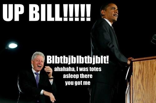 wake up bill, ahahaha I was totes asleep there you got me