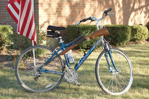 Russ's dad's gun bike