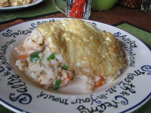 Cambodia fried rice