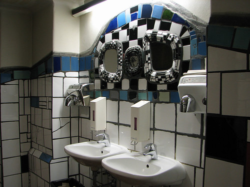 Toilet of Kunshaus Wien by you.