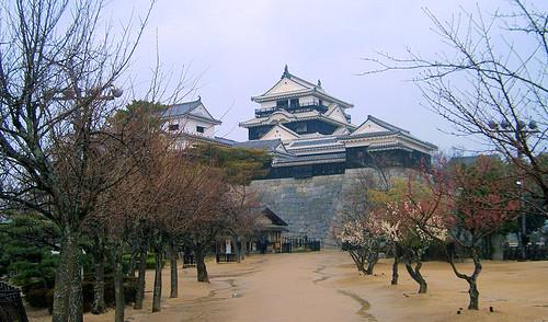 Castillo de Matsuyama.