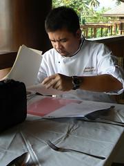 chef anton at work