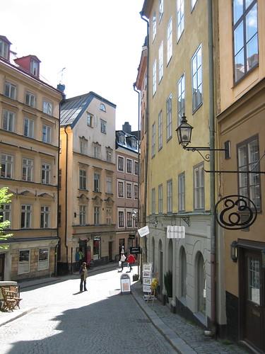 Gamla Stan Street Corner