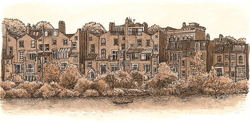 houses by hampstead heath ponds