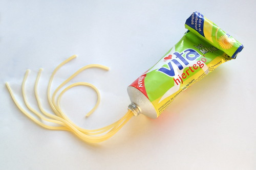 Unexpected Food VI.2: Spaghetti on a tube