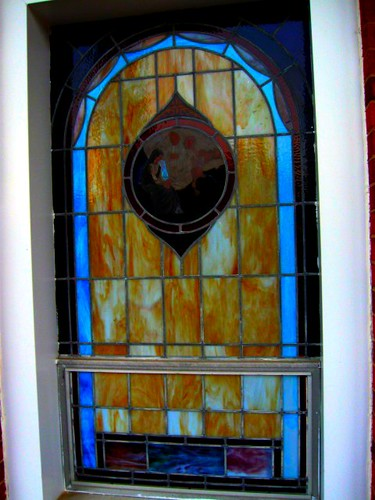 A photo of another of the windows