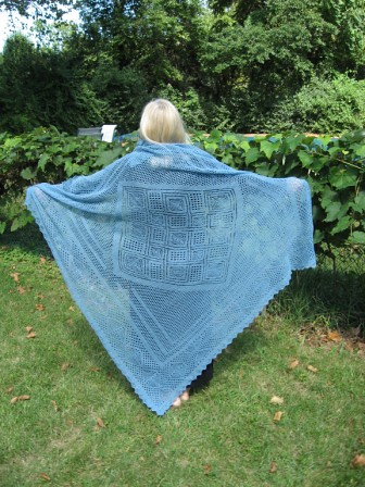 Stunning.  Truly - and the price for the pattern really is very reasonable, giving the size of this shawl!  DO go check it out, its breathtaking!!