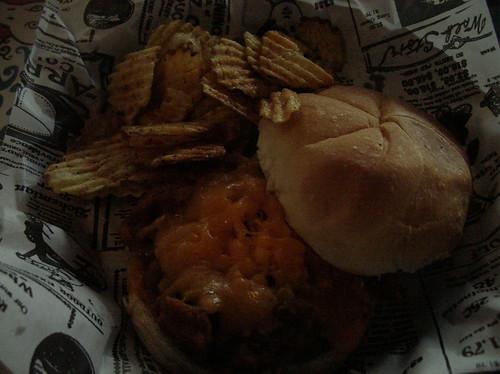 Finnhery's BBQ sandwich
