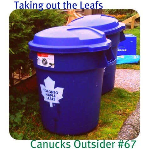 taking out the leafs