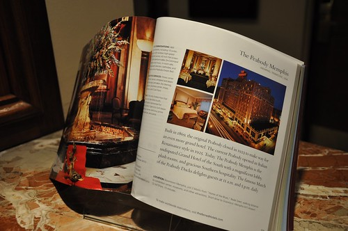 Peabody Hotel Book