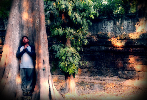 TEACH... meditating