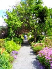 Bridge of Flowers in Shelburne Falls, MA (c) Sienna Wildfield