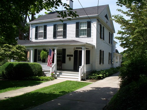 Front of Mather House Museum