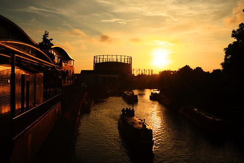Day 238:  Notting Hill Carnival Sunset