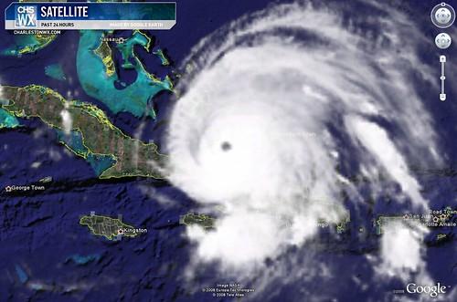 Ike Satellite Photo
