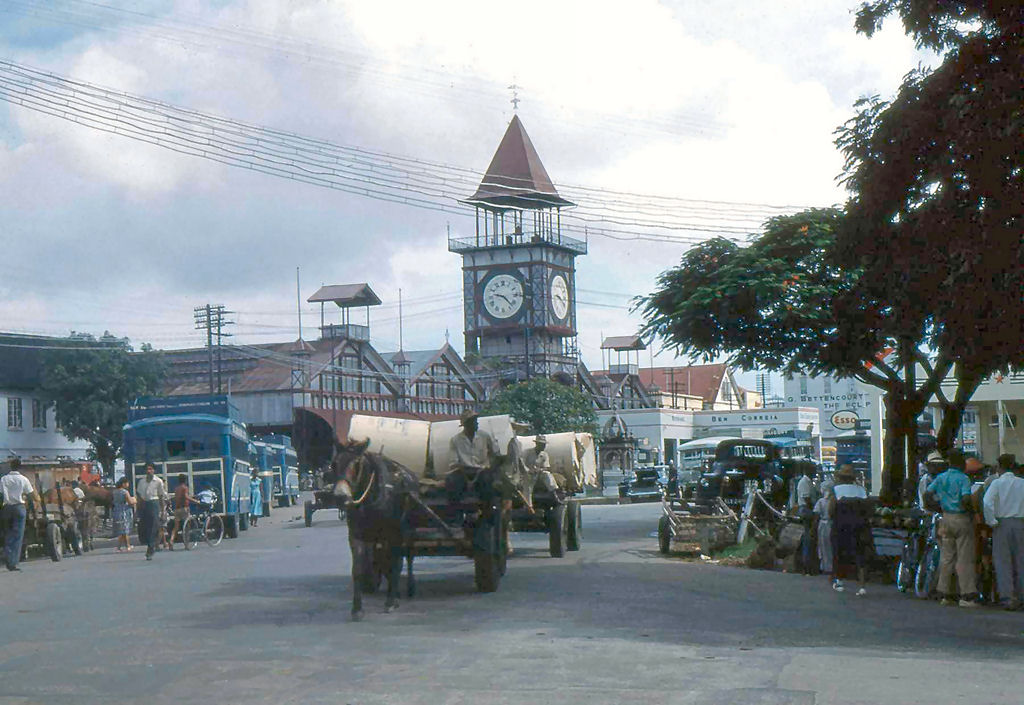 Stabroek Market, Georgetown, British Guiana