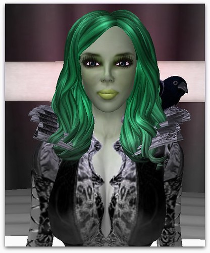 Anya in Green Skin