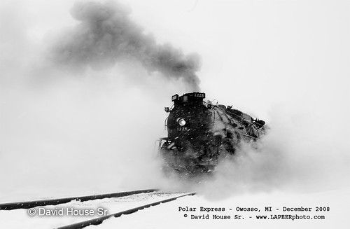 The Pere Marquette #1225 (Christmas train 12/25) One of the Last!!!