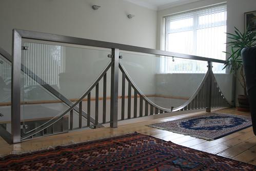Bridge pattern ballustrade view from lounge