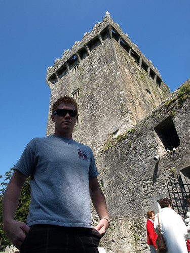 G, outside Blarney Castle