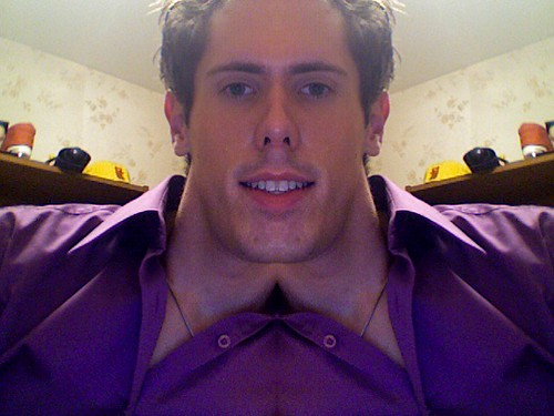 What I would look like if my head was symmetrical. I guess I would have a rectangle for a head.