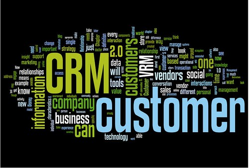 Wordle from Paul Greenberg on CRM