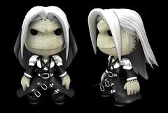 Sackboy Sephiroth!