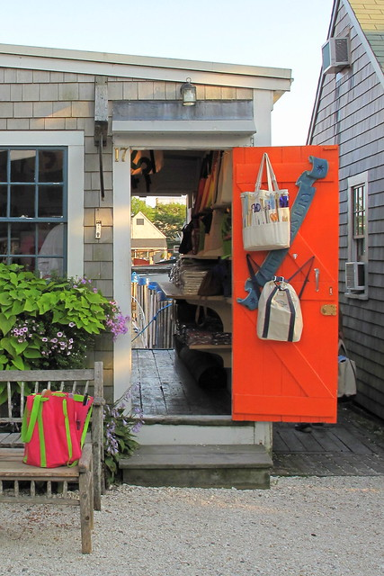 orange door, Nantucket