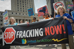 Manhattan Anti-Fracking rally, NYC