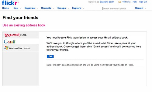Flickr: Find your friends