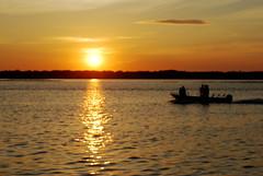 Beautiful sunset at Ocean City