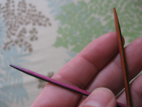 Harmony needles