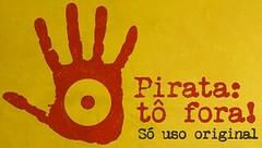 pirataria: tô fora
