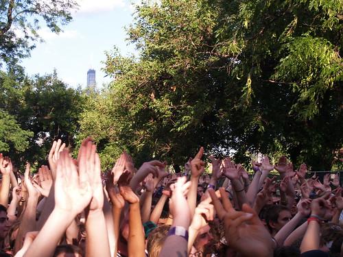Raekwon & Ghostface Killah @ Pitchfork 2008, Chicago 07/20/08