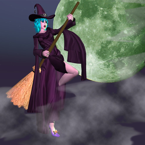 The Witch Who Turned Pink - LAP Halloween Contest Entry